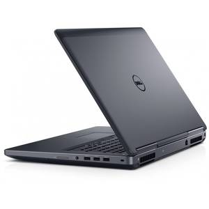 Laptop Dell Precision 7710 17.3 inch Ultra HD Intel Xeon E3-1535M v5 32GB DDR4 512GB SSD nVidia Quadro M4000M 4GB Windows 10 Pro Black