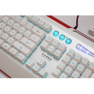 Tastatura gaming Marvo KG805 USB Alb