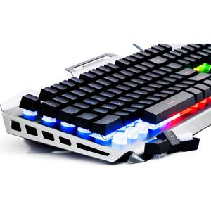 Tastatura gaming Newmen GM816 USB Black/Silver