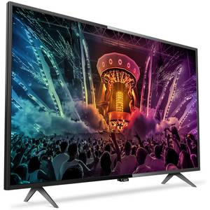 Televizor Philips LED Smart TV 55 PUH6101 139 cm Ultra HD 4K Black
