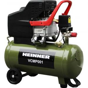 Compresor Heinner VCMP001 24l 2CP 8 bar