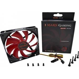 Ventilator Tacens Mars Gaming MF-12 120mm LED Red