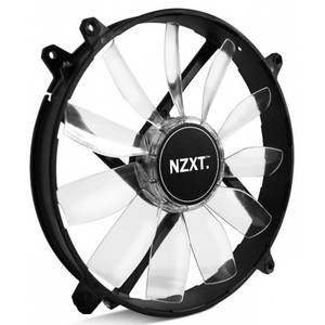 Ventilator NZXT FZ 200mm Red LED Airflow Series
