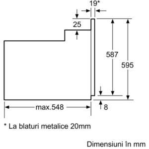 Cuptor electric Bosch HBN439E4 clasa A, 6 functii