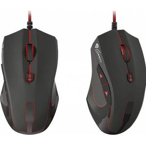 Mouse gaming Genesis GX75 Optic USB Negru