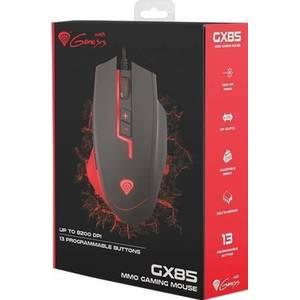 Mouse gaming Genesis GX85 Laser USB Negru