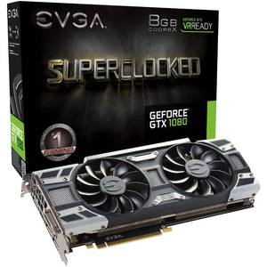 Placa video EVGA nVidia GeForce GTX 1080 SC GAMING ACX 3.0 8GB DDR5X 256bit