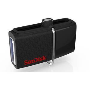 Memorie USB Sandisk Ultra Dual OTG 128GB USB 3.0 Black
