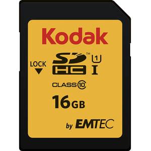 Card Kodak SDHC 16GB Clasa 10 UHS-I U1 20MB/s