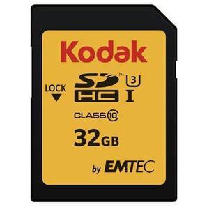 Card Kodak SDHC 32GB Clasa 10 UHS-I U3 90MB/s