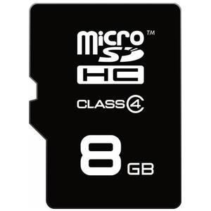Card Emtec microSDHC 8GB Clasa 4 6MB/s cu adaptor SD