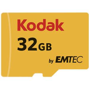 Card Kodak microSDHC 32GB Clasa 10 UHS-I U1 20MB cu adaptor SD