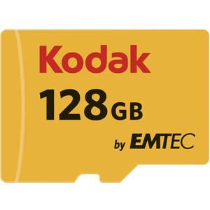 Card Kodak microSDXC 128GB Clasa 10 UHS-I U1 20MB/s cu adaptor SD