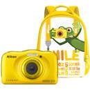 Coolpix W100 13.2 Mpx zoom optic 3x subacvatic Backpack Kit Yellow