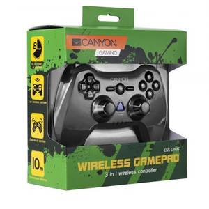 Gamepad Canyon PC PS2 PS3  Black