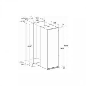 Frigider Hotpoint BS 3022 V 285 L, ventilat, clasa A+