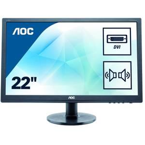 "Monitor AOC E2275SWJ 21.5"" Negru"