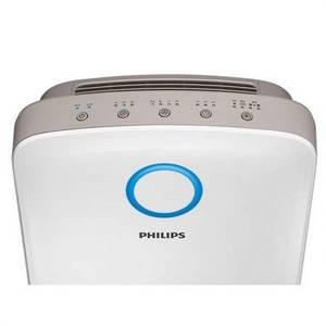 Purificator de aer Philips Combi 2 in 1 AC4080/10 Senzor inteligent VitaShield IPS Sleep mode Timer Alb