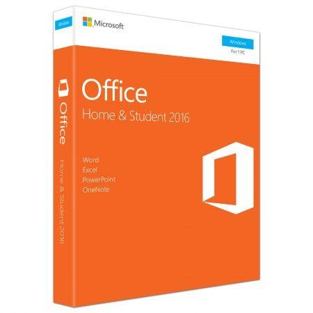 Office Home And Student 2016  Engleza  Pentru Pc Windows  Medialess