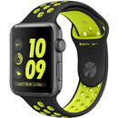 Watch 2 Nike Plus Grey Aluminium Case 38mm Silicon Black/Green Band
