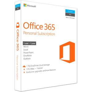 Microsoft Office 365 Personal 1 An Engleza