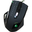 Mouse gaming Keepout X7 Black