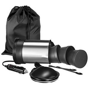 Fierbator electric de voiaj Unold U18445 120/480W 0.5 Litri Inox / Negru