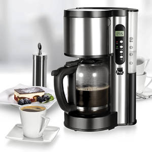 Cafetiera Unold Onyx U28016 1000W 1.5 Litri Inox/Negru