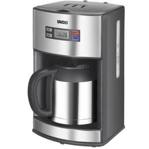 Cafetiera Unold U28465 1000W 1.2 Litri Negru/Argintiu