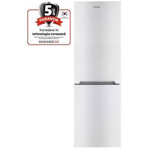 Combina frigorifica Daewoo RN-308NW A+ Alba + Aspirator RCC-220R 1200W Rosu