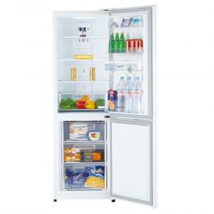 Combina frigorifica Daewoo RN-308RDQW  A+ Alba + Aspirator RCC-220R 1200W Rosu