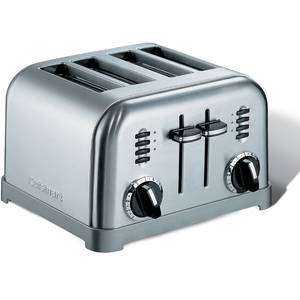 Prajitor de paine Cuisinart CPT180E 1800W Argintiu