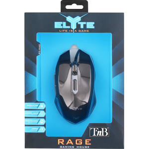 Mouse gaming TnB Rage Black