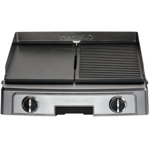 Gratar electric CUISINART PL50E 2200W Termostat Negru