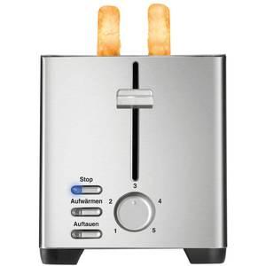 Prajitor de paine Unold U38376 Edel 2 functii de dezghetare si reincalzire 850 W Alb