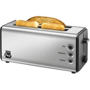 Prajitor de paine Unold Onyx Duplex U38915 1400W 4 felii Argintiu