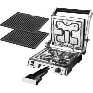 Gratar electric Unold U58526 2000W 7 pozitii Argintiu