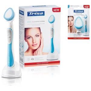 Pachet curatare faciala cu rezerva Trisa Sonic Visage Alb/Albastru