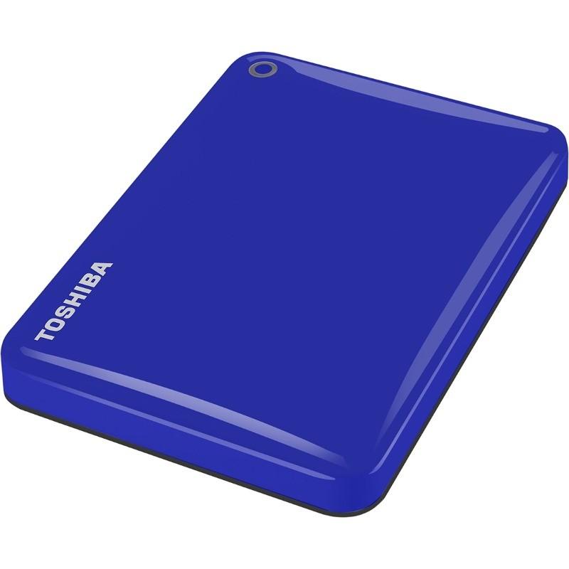 Hard Disk Extern Canvio Connect Ii 1tb 2.5 Inch Usb 3.0 Blue