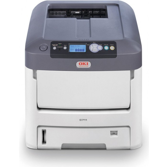 Imprimanta laser color Imprimanta laser OKI C711n thumbnail