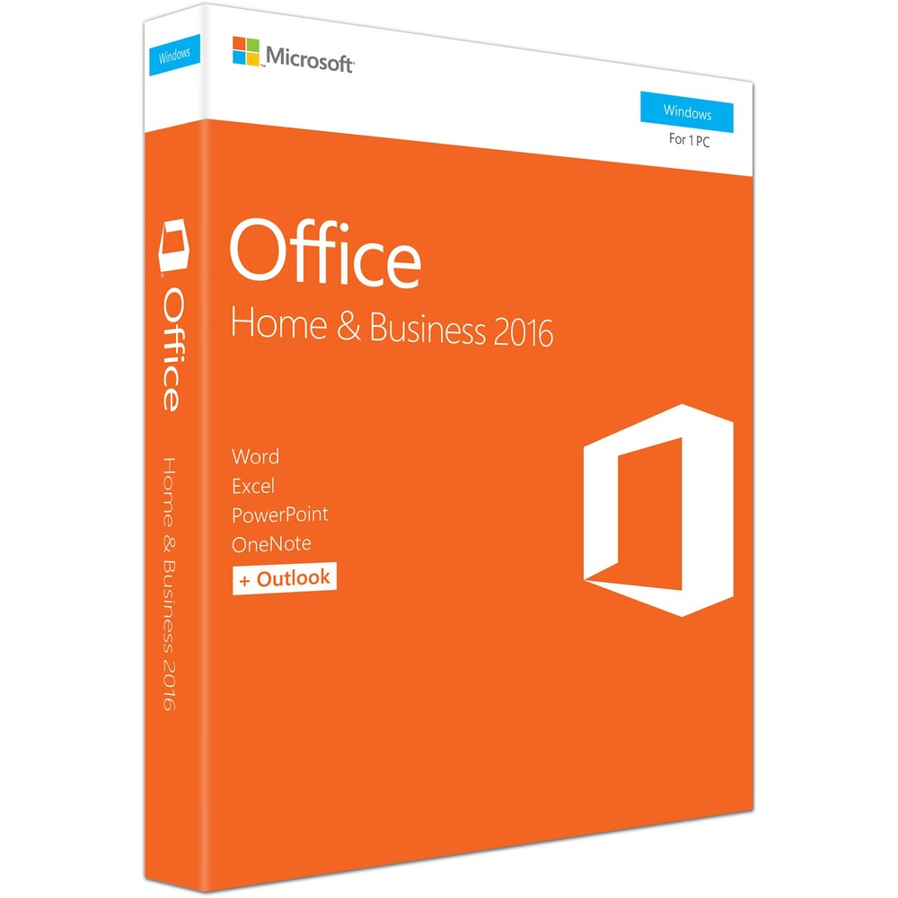 Office Home And Business 2016 Eng  32-bit/x64  1 Pc  Medialess - Fpp