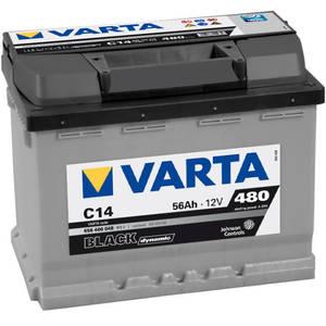Baterie auto Varta BLACK DYNAMIC 556400048 C14 56Ah 480A