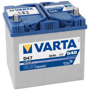 Baterie auto Varta BLUE DYNAMIC 560410054 D47 60Ah 540A