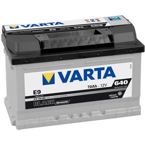 Baterie auto Varta BLACK DYNAMIC 570144064 E9 70Ah 640A