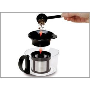 Aparat preparare ceai Trisa Tea Time 6190.70 1200W  1L Alb/Negru