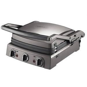 Gratar electric CUISINART GR50E 2000W Negru/Argintiu