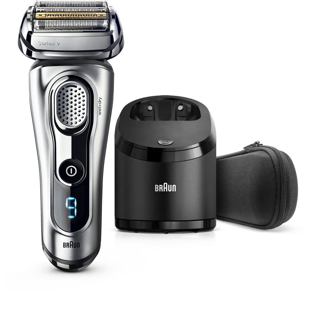 Aparat de ras 9290CC Series 9 Wet&Dry Clean&Charge LED Argintiu Premium thumbnail