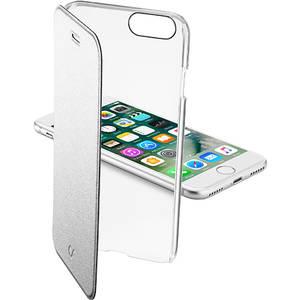 Husa Flip Cover Cellularline CLEARBOOKIPH747S Agenda Clear Argintiu pentru Apple iPhone 7