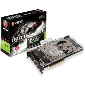Placa video MSI nVidia GeForce GTX 1070 Sea Hawk EK X 8GB DDR5 256bit