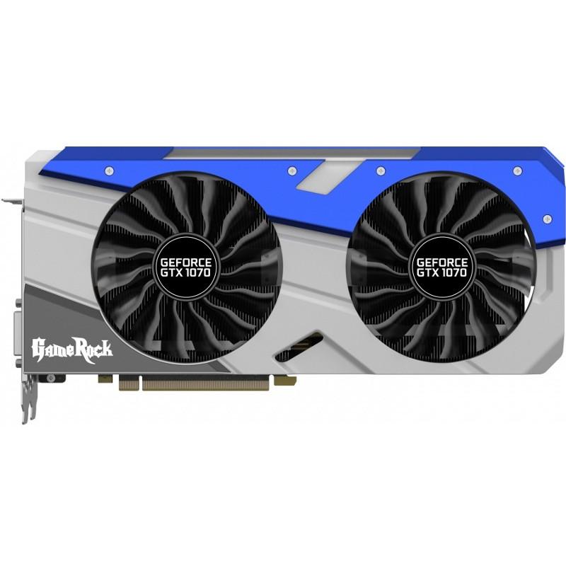 Placa Video Nvidia Geforce Gtx 1070 Gamerock 8gb D